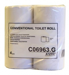 Tork Conventional Toilet Roll 2L 200v - 12x4st