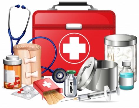 Medisch materiaal voor professionelen